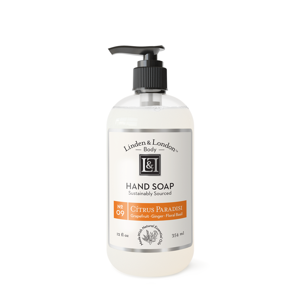 Linden & London Hand Soap -  fragrance