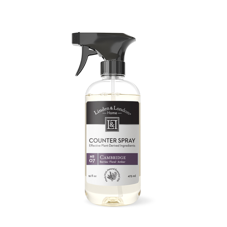bottle of Cambridge Counter Spray