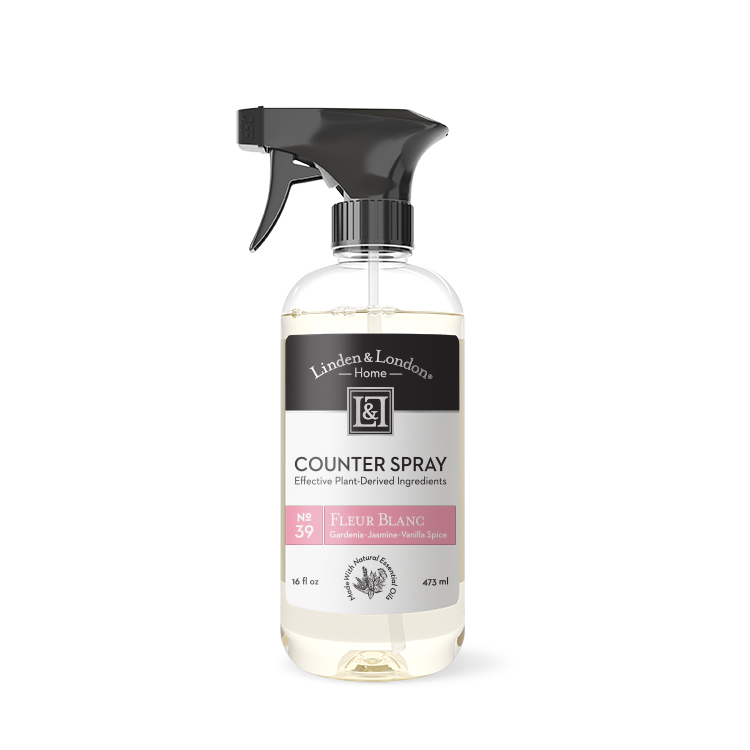 bottle of Fleur Blanc Counter Spray