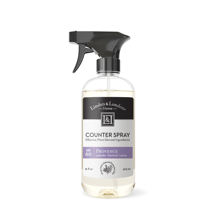 bottle of Provence Counter Spray