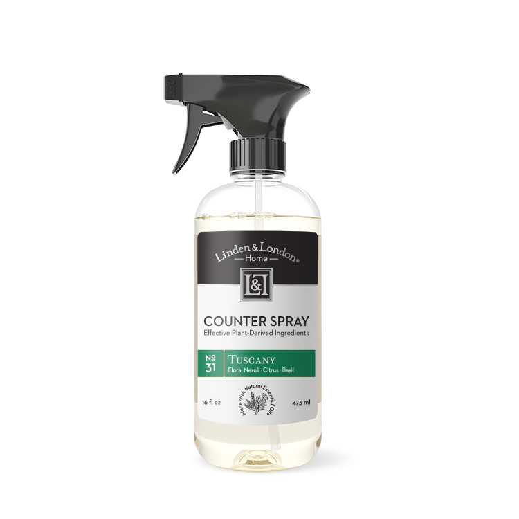 bottle of Tuscany Counter Spray