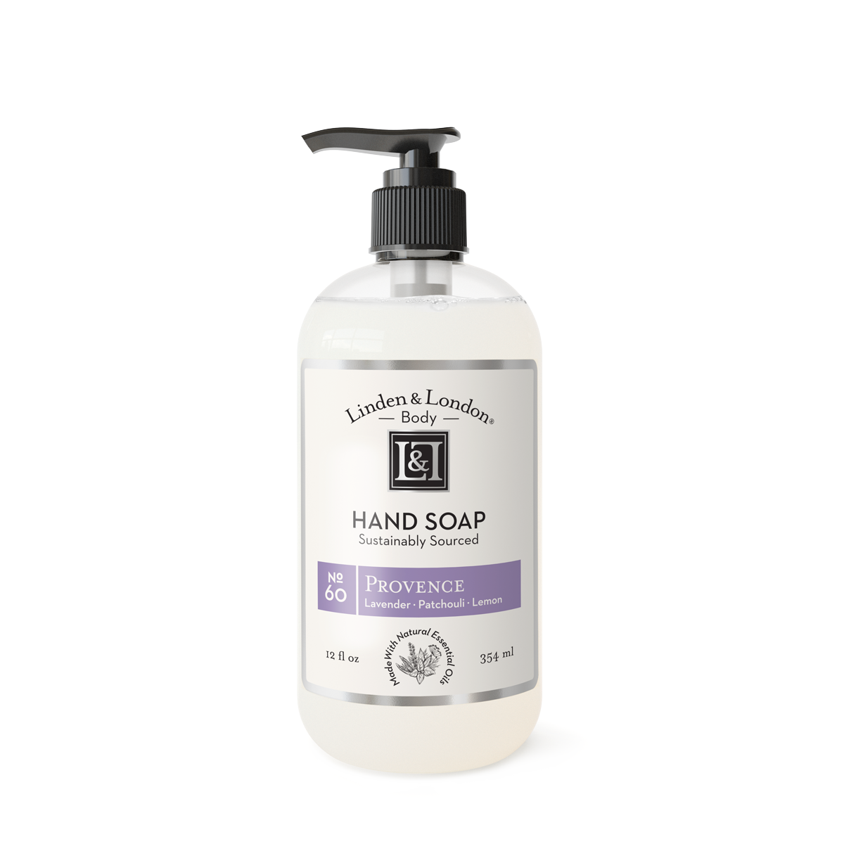 bottle of Provence Hand Soap
