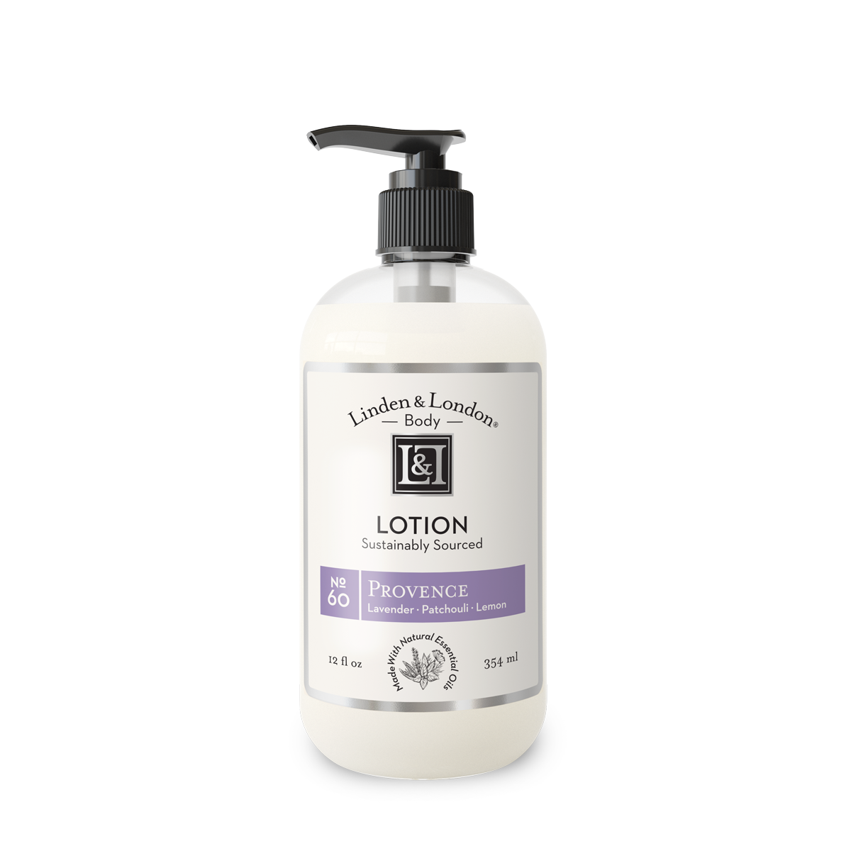 bottle of Provence Lotion